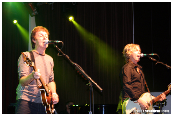 Paul McCartney at the Highline Ballroom