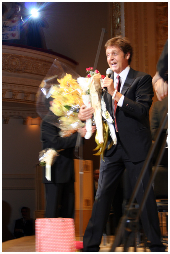 Paul McCartney at Carnegie Hall