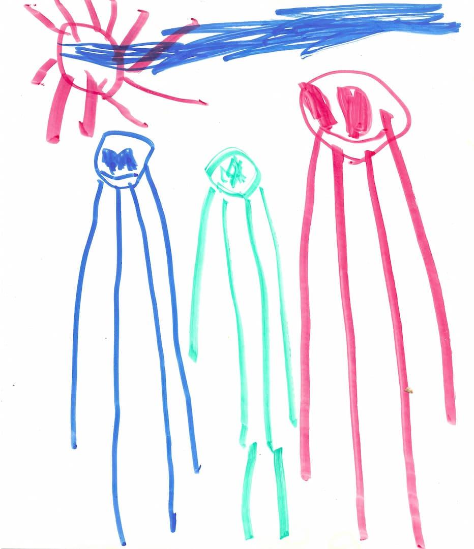 My son's artwork