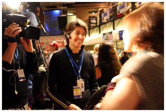 Press interviews Steph