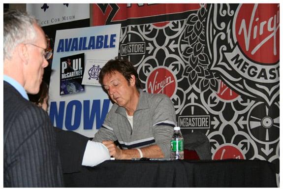 Meeting Paul McCartney
