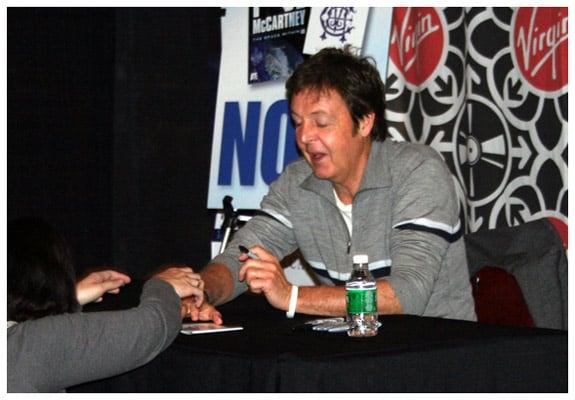Paul McCartney at Virgin Megastore