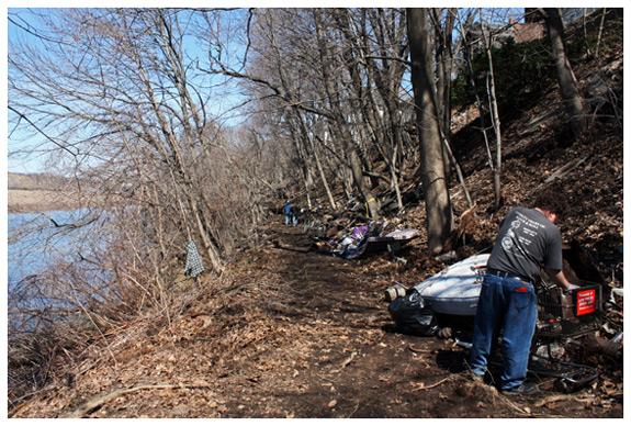 Naugatuck River Cleanup
